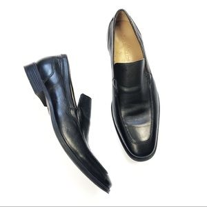 Cole Haan black leather men's loafers 10 M